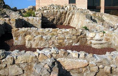 Casa VI de la judería del castillo de Lorca