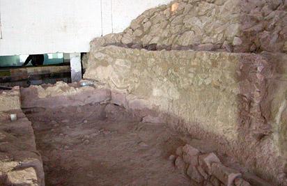 Casa VII de la judería del castillo de Lorca dentro del complejo sinagogal