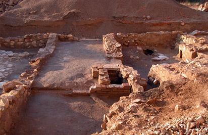 Casa IX de la judería del castillo de Lorca