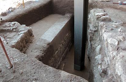 Sondeos del área del aparcamiento del Parador de Turismo de Lorca